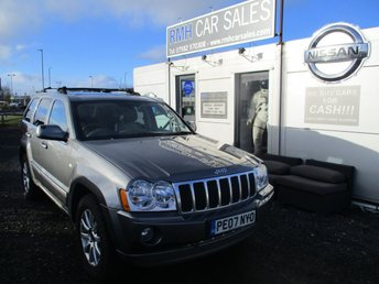 2007 JEEP GRAND CHEROKEE 3.0 V6 CRD OVERLAND 5d AUTO 215 BHP £5495.00