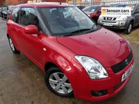 USED 2008 58 SUZUKI SWIFT 1.5 GLX 3d 90 BHP NEW MOT, SERVICE & WARRANTY
