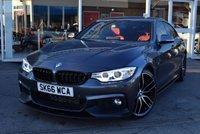 2016 BMW 4 SERIES 2.0 420D M SPORT GRAN COUPE 4d AUTO 188 BHP £21490.00