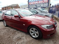 USED 2010 60 BMW 3 SERIES 2.0 320D EFFICIENTDYNAMICS 4d 161 BHP 1 OWNER , FULL SERVICE HISTORY, GREAT VALUE, 1/2 LEATHER, ALLOYS,BLUETOOTH