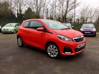 USED 2015 65 PEUGEOT 108 1.0 ACTIVE 3d  WITH AIR CONDITIONING AND FREE ROAD TAX NO DEPOSIT  PCP/HP FINANCE ARRANGED, APPLY HERE NOW