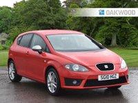 2010 SEAT LEON 2.0 FR CR TDI 5d 168 BHP £4795.00