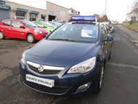 2011 VAUXHALL ASTRA 1.4 EXCLUSIV 5d 98 BHP £4400.00