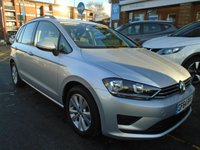 USED 2014 64 VOLKSWAGEN GOLF SV 1.6 SE TDI DSG 5d AUTO 108 BHP ONLY 24,000 MILES!