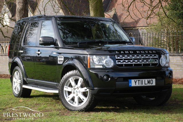 2011 11 LAND ROVER DISCOVERY 4 3.0 SDV6 COMMERCIAL AUTO [245 BHP] HUGE SPEC