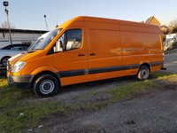 USED 2012 61 MERCEDES-BENZ SPRINTER 2.1 313 CDI LWB 1d 129 BHP FIRST TO SEE WILL BUY ... BARGAIN PRICE