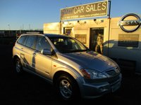 USED 2007 57 SSANGYONG KYRON 2.0 SE 4WD 5d AUTO 140 BHP