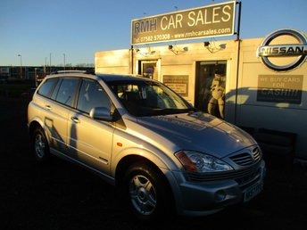 2007 SSANGYONG KYRON 2.0 SE 4WD 5d AUTO 140 BHP £2995.00