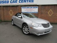 USED 2009 59 CHRYSLER SEBRING 2.7 LIMITED V6 2d AUTO 189 BHP * LOVELY LOW MILEAGE CAR *