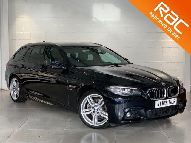 2014 64 BMW 5 SERIES 520D M SPORT [PDC][H/K][HTD SEATS]