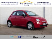 USED 2014 64 FIAT 500 1.2 POP 3d 69 BHP Full FIAT History £30 Tax Buy Now, Pay Later Finance!