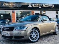 USED 2005 55 AUDI TT 1.8T ROADSTER QUATTRO 225 BHP
