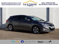 USED 2014 14 HYUNDAI I40 1.7 CRDI STYLE BLUE DRIVE 5d 134 BHP One Owner Service History NAV Buy Now, Pay Later Finance!