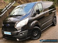 2015 FORD TRANSIT CUSTOM LIMITED L1 H1 290 SWB 2.2 125BHP