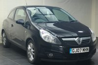 USED 2007 07 VAUXHALL CORSA 1.2 SXI A/C CDTI 3d 90 BHP PART EXCHANGE TO CLEAR