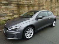 2015 VOLKSWAGEN SCIROCCO 1.4 TSI BLUEMOTION TECHNOLOGY 2d 123 BHP £11890.00