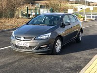 2012 VAUXHALL ASTRA 1.4 EXCLUSIV 5d 98 BHP £4995.00