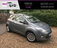 USED 2009 09 FORD KA 1.2 ZETEC 3d 69 BHP 3 OWNERS FULL SERVICE HISTORY ALLOY WHEELS AIR CONDITIONING