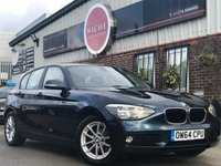 2015 BMW 1 SERIES 1.6 116d EfficientDynamics Sports Hatch (s/s) 5dr £7495.00