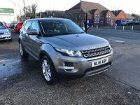 USED 2012 61 LAND ROVER RANGE ROVER EVOQUE 2.2 SD4 PURE 5d 190 BHP FULL DEALER HISTORY-1 OWNER-BLUETOOTH-LEATHER HEATED SEATS