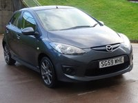 USED 2009 59 MAZDA 2 1.3 TAMURA 5d 85 BHP 1 OWNER FROM NEW *  MOT SEPTEMBER 2019 *  AUX CONNECTION *  CLIMATE CONTROL *