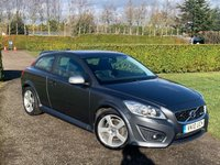 2010 VOLVO C30 2.0 D R-DESIGN 3d AUTO 136 BHP Heated Leather Bluetooth FSH £5995.00