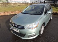 USED 2013 13 CITROEN C4 1.6 VTR PLUS HDI 5d 91 BHP 3 Months National Warranty - Full Service History - 1 Years MOT for New Owner