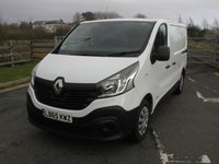 USED 2015 65 RENAULT TRAFIC 1.6 SL27 BUSINESS DCI 115 BHP Van - SOLD 37000 miles, Service History, Ply Lined