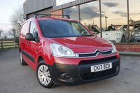 USED 2013 13 CITROEN BERLINGO 1.6 625 X L1 AIRDREAM E-HDI 1d 89 BHP ONE FORMER KEEPER + LOW MILES+ 6 SPEED GEARBOX, VERY FUEL EFFICIENT