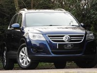 USED 2009 59 VOLKSWAGEN TIGUAN 2.0 SE TDI 4MOTION 5d AUTO 138 BHP HUGE SPEC ONLY 45K FROM NEW