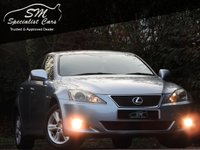 USED 2007 57 LEXUS IS 220D 2.2 220D 4d 175 BHP ONLY 68K FSH A/C 50 MPG VGC