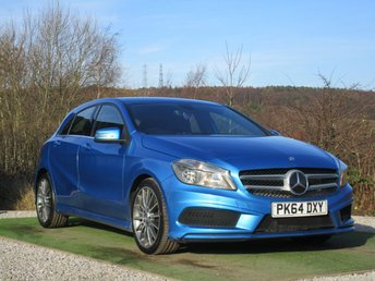 2014 MERCEDES-BENZ A CLASS 1.5 A180 CDI BLUEEFFICIENCY AMG SPORT 5d AUTO 109 BHP £11999.00