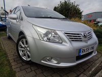 2009 TOYOTA AVENSIS 1.6 TR VALVEMATIC 4d 132 BHP £4689.00