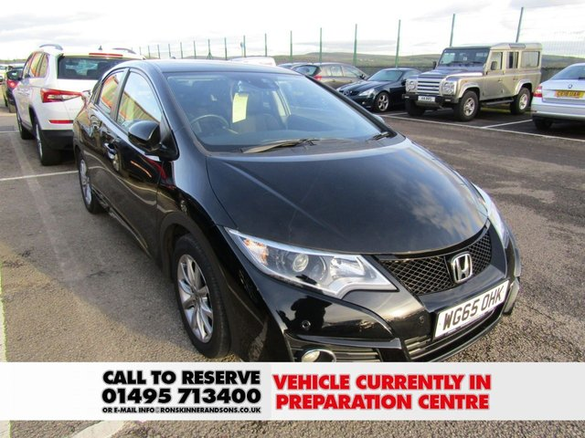 View our 2015 65 HONDA CIVIC 1.6 I-DTEC SE PLUS 5d 118 BHP