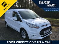 2015 FORD TRANSIT CONNECT 1.6 240 LIMITED P/V 1d 114 BHP £8775.00