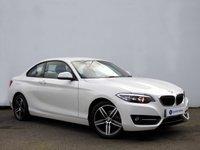 USED 2015 15 BMW 2 SERIES 2.0 218D SPORT 2d 141 BHP £30 ROAD TAX+1 OWNER......