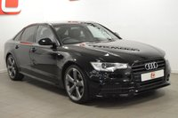 USED 2014 14 AUDI A6 2.0 TDI ULTRA S LINE BLACK EDITION 4d AUTO 190 BHP 20 INCH ROTOR ALLOYS + NAV + LEATHER + TOP OF THE RANGE + PART EX ?