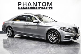 2013 MERCEDES-BENZ S CLASS 4.7 S500 L AMG LINE EXECUTIVE 4d AUTO 455 BHP £34990.00