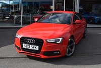 USED 2013 13 AUDI A5 2.0 TDI S LINE BLACK EDITION 2d AUTO 177 BHP FINANCE TODAY WITH NO DEPOSIT