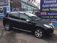USED 2015 65 PEUGEOT 2008 1.6 E-HDI ALLURE FAP 5d AUTO 92 BHP, only 1 owner, only 40000 miles ***GREAT FINANCE DEALS AVAILABLE***