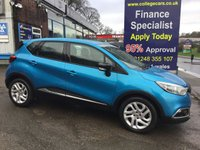 USED 2015 65 RENAULT CAPTUR 0.9 DYNAMIQUE NAV TCE 5d 90 BHP, only 40000 miles, 1 Owner ***APPROVED DEALER FOR CAR FINANCE247 AND ZUTO  ***