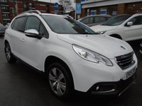 USED 2015 15 PEUGEOT 2008 1.6 E-HDI ALLURE FAP 5d AUTO 92 BHP ONLY 20,000 MILES!