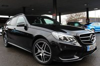 USED 2015 65 MERCEDES-BENZ E-CLASS 3.0 E350 BLUETEC AMG NIGHT EDITION 5d AUTO 255 BHP