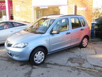 USED 2004 54 MAZDA 2 1.2 S 5d 74 BHP AUTOMATIC VERY LOW MILEAGE FINANCE ME TODAY-UK DELIVERY POSSIBLE
