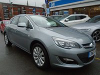 USED 2013 13 VAUXHALL ASTRA 1.7 ELITE CDTI ECOFLEX S/S 5d 130 BHP FULL LEATHER, HEATED SEATS