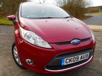 USED 2009 09 FORD FIESTA 1.4 ZETEC TDCI 5d 68 BHP ** TURBO DIESEL ,67 MPG,  ONLY £20 ROAD TAX, YES ONLY 49K , LOW INSURANCE **