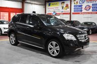 2010 MERCEDES-BENZ M CLASS 3.0 ML300 CDI BLUEEFFICIENCY SPORT 5d AUTO 204 BHP £11785.00