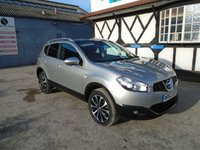 2012 NISSAN QASHQAI 1.6 N-TEC PLUS IS DCIS/S 5d 130 BHP £8381.00