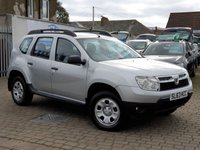 USED 2013 63 DACIA DUSTER 1.5 AMBIANCE DCI 5d 107 BHP PLEASE CALL IF YOU CANT SEE WHAT YOU ARE AFTER . WE WILL CHECK OUR OTHER BRANCHES FOR YOU . WE HAVE OVER 100 CARS IN GROUP STOCK
