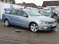 2013 VOLKSWAGEN PASSAT 1.6 S TDI BLUEMOTION TECHNOLOGY 5d 104 BHP £7200.00